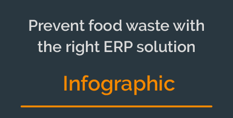 How can your food company prevent food waste with the right ERP solution [Infographic]
