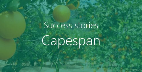 How Capespan braved the tsunami of technology together with Schouw