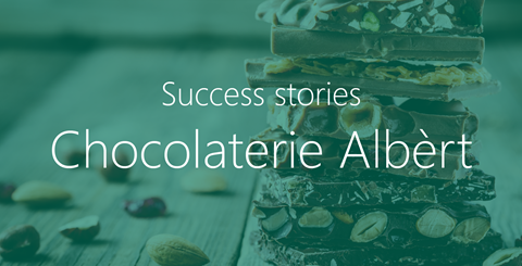 Video | Chocolaterie Albèrt uses Foodware 365 in the Cloud